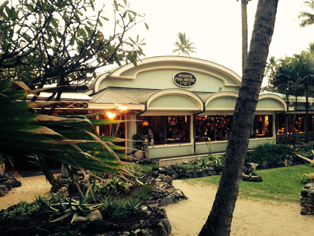 Mama 39 s fish house great for all a maui bed and breakfast for Mamas fish house maui