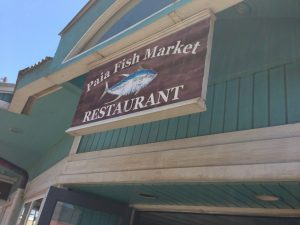 Paia Fish Market for Lunch